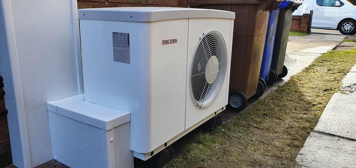 Stiebel Eltron, 6kW Air Source Heat Pump (ASHP), Snyed Green, Staffordshire (13)